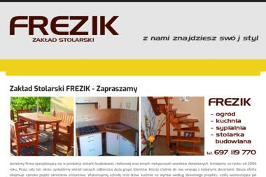 Zakład Stolarski FREZIK - Budowa Altany Pleszew