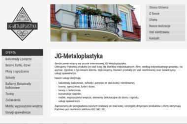 JG-Metaloplastyka - Schody Niedźwiedź