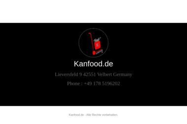 kanFood GmbH - Hurtownia Alkoholi Zduny