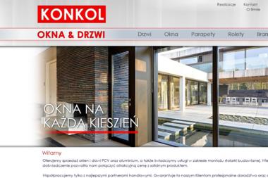 KONKOL-OKNA I DRZWI Monika Konkol - Okna aluminiowe Wejherowo
