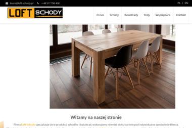 Loft Schody - Schody Wewnętrzne Gliwice