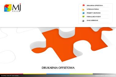 MJ Druk Usługi Poligraficzne s.c. - Ulotki A5 Poznań