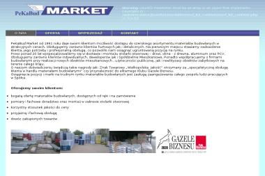 Pekabud Market sp z o.o. - Producent Styropianu Poznań