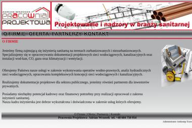 Pracownia Projektowa Adrian Wrzosek - Projektowanie Instalacji Wod-kan Tczew