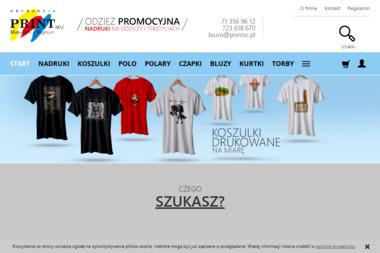 PRINT Makowski i Węgrzyn sp.j - Nadruki na odzieży Wrocław