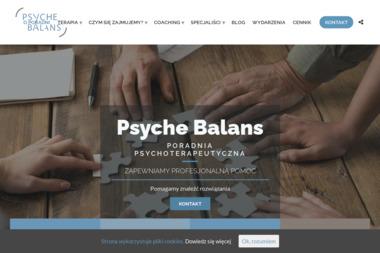 Psyche-balans - Psychoterapia Warszawa