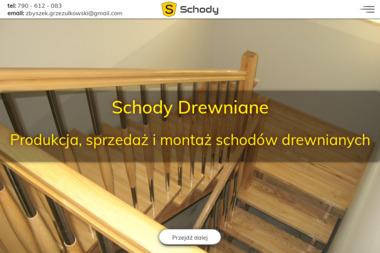 Schody drewniane - Zbyszek Grzeżułkowski - Schody drewniane Pątnów