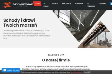 Schody & Drzwi Szymkowiak - Schody drewniane Krobia