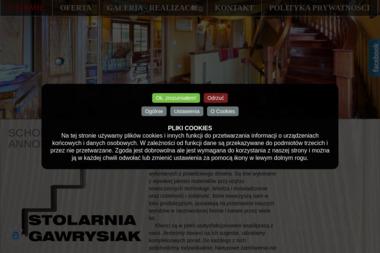 Zakład Stolarski Gawrysiak - Schody Annopol