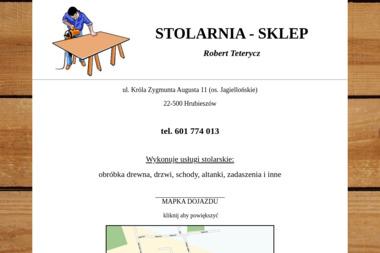 STOLARNIA - SKLEP  Robert Teterycz - Altany Hrubieszów