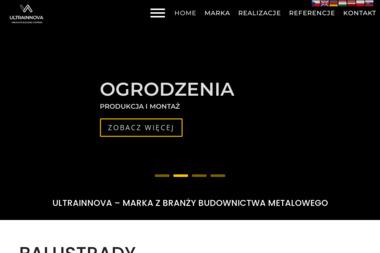 Ultrainnova - Balustrady Tarasowe Zamość
