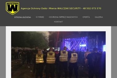 """""""WALCZAK SECURITY"""" - Agencja ochrony Zielona Góra"""