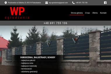 WP Ogrodzenia - Schody metalowe Pakosławice