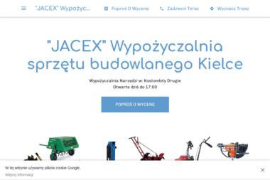 """Wypożyczalnia sprzętu budowlanego """"JACEX"""" - Wynajem Sprzętu Budowlanego Kostomłoty Drugie"""