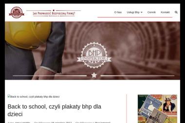 BHP Insperktor - BHP, ppoż, bezpieczeństwo Dąbrówka-Ług