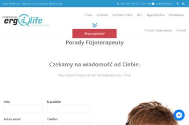 Ergolife Sklep Medyczny - Sprzęt rehabilitacyjny Łódź