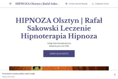 Rafał Sakowski HIPNOZA - Hipnoterapia Olsztyn