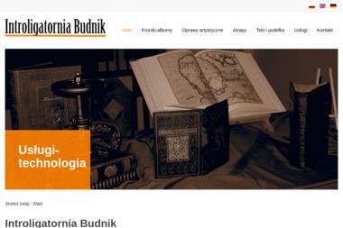 Introligatornia Budnik - Sztancowanie Pelplin
