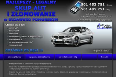 Złomowanie Aut Bydgoszcz - Auto złom Bydgoszcz