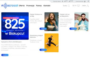 "PPHU ""Macrosat"" - Internet Barczewo"