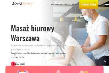 Masaż Biurowy Warszawa - Masażysta Warszawa