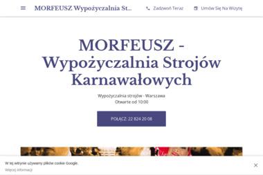 MORFEUSZ - Wypożyczalnia Strojów Karnawałowych - Wypożyczalnia strojów Warszawa