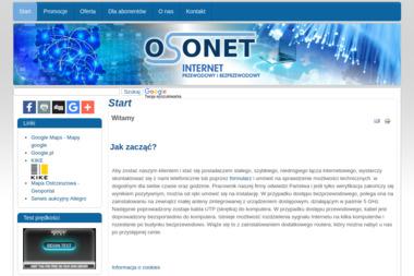 OSONET s.c. - Internet Ostrzeszów