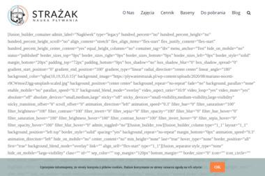 Nauka Pływania Strażak - Nauka pływania Bydgoszcz