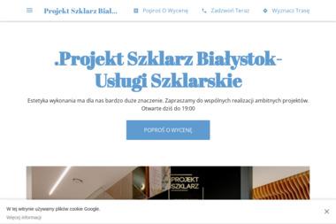 Projekt Szklarz - Balustrady Białystok