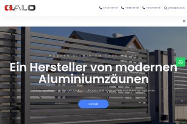 Qalo – Producent nowoczesnych ogrodzeń aluminiowych - Płyta Fundamentowa Kostrzyn nad Odrą