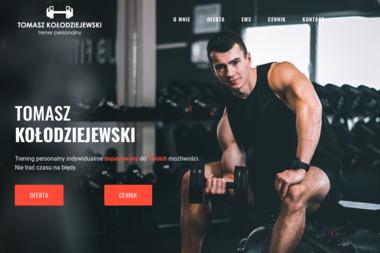 Twój Trener Tomasz Kołodziejewski - Trener personalny Brodnica