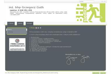 BHP inż. bhp Grzegorz Guth - Firma audytorska Siedlce