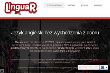 LinguaR - Nauczyciel Angielskiego Chynów