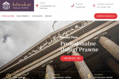 Kancelaria Adwokacka Adwokat Kamil Flatow - Adwokat Płock