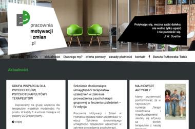 Pracownia Motywacji i Zmian - Ośrodek Leczenia Uzależnień Poznań