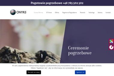 Zakład Pogrzebowy Onyks - Zakład Kamieniarski Kołobrzeg