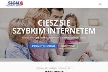 SIGMA - Usługi Teleinformatyczne - Internet Jasło