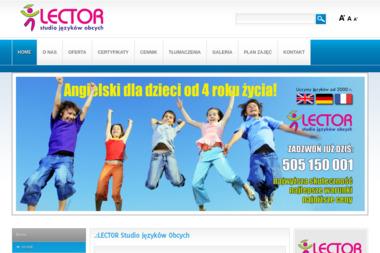 Studio Języków Obcych LECTOR - Nauczyciele angielskiego Lubań