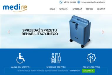 MEDIRE - Sprzęt rehabilitacyjny Łódź