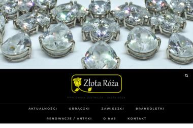 """Pracownia Złotnicza """"Złota Róża"""" - Jubilerstwo Poznań"""