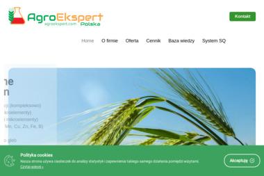 AGROEKSPERT POLSKA JOANNA - Badania i rozwój, analizy Pakość