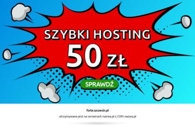 FORTE SZCZECIN - Rolety zewnętrzne Szczecin