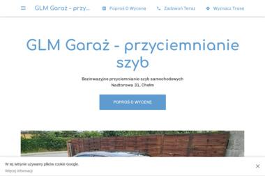 GLM Garaż - Oklejanie Szyb Samochodowych Chełm