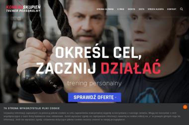 Konrad Skupień - trener personalny - Trener personalny Łódź