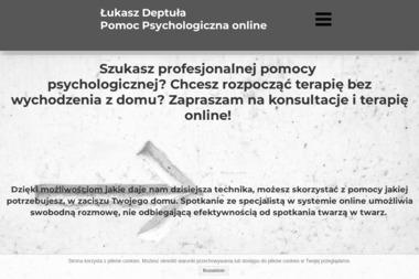 Psycholog Łukasz Deptuła - Terapia uzależnień Brańszczyk