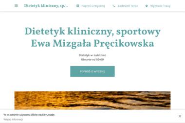 Dietetyk kliniczny, sportowy Ewa Mizgała Pręcikowska - Dietetyk Lubliniec