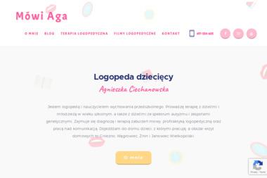 Mówi Aga - Logopeda Gniezno