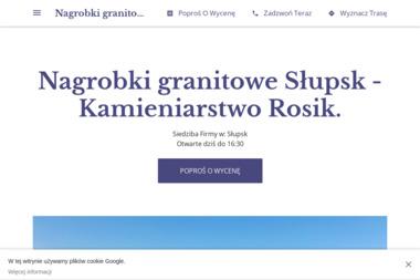 Kamieniarstwo Rosik - Nagrobki Granitowe Słupsk