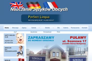 PERFECT LINGUA - Język Angielski Dęblin