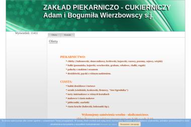 ZAKŁAD PIEKARNICZO-CUKIERNICZY ADAM I BOGUMIŁA WIERZBOWSCY S.J. - Cukiernia Kołobrzeg